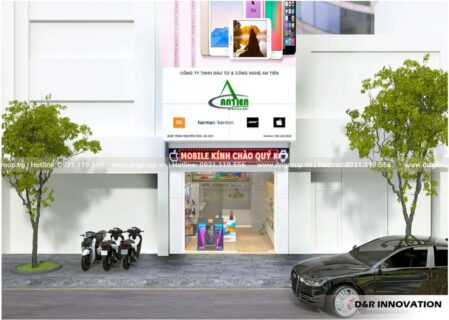 Project of designing and constructing Showroom An Tien, Hai Phong