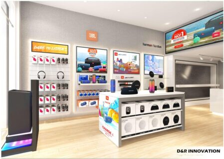 Project design of DIGIWORLD Hanoi Showroom