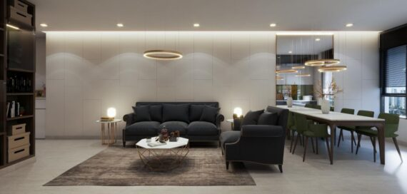 High-class apartment design and construction project in District 2