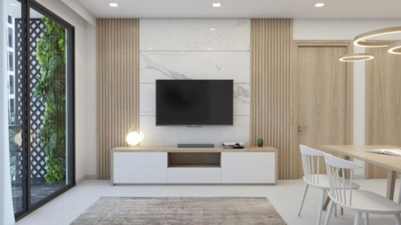 Apartment design and construction project in District 7